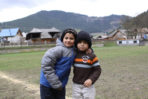 Boys from Bread of Life Orphanage Brosteni Romania