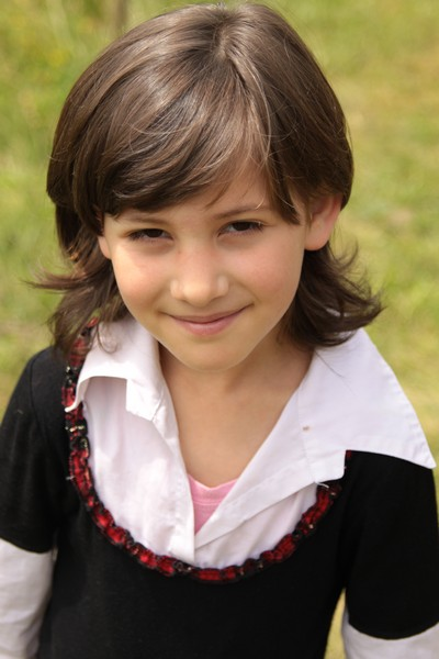 Girl from Bread of Life Orphanage Brosteni Romania