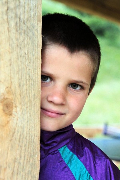 Boy from Bread of Life Orphanage Brosteni Romania