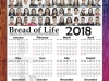 Bread of Life 2018 Calendar